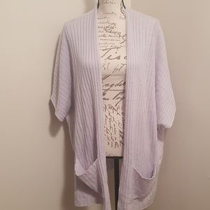 Women's Cashmere Duster/Sweater M/L/XL Nwt
